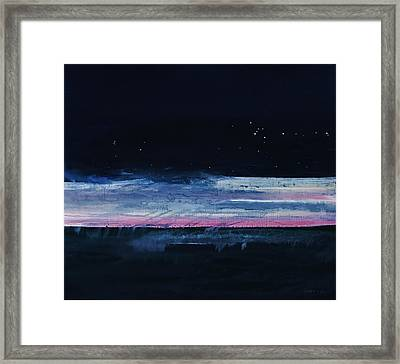 Morning Over The Sea 2003 Framed Print
