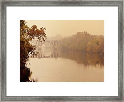 Morning Passage Framed Print