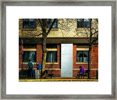 Morning People Framed Print by Bob Orsillo