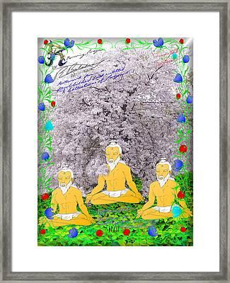 Morning Prayer Framed Print by R R  Balasar