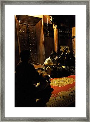 Morning Ragas Framed Print by Lee Stickels