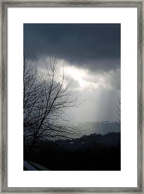 Morning Rains Framed Print by Scott Ware