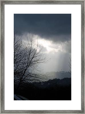 Morning Rains Framed Print by Scott Ware