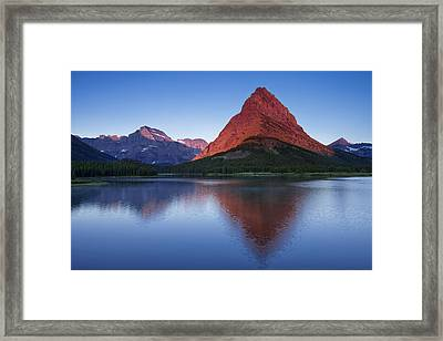 Morning Reflections Framed Print by Andrew Soundarajan