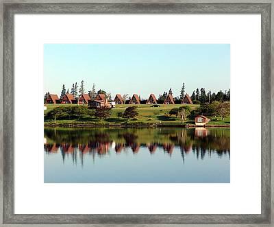 Morning Reflections Framed Print by Janet Ashworth