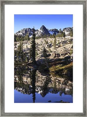 Morning Reflections Framed Print by Karma Boyer