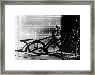 Morning Ride Framed Print