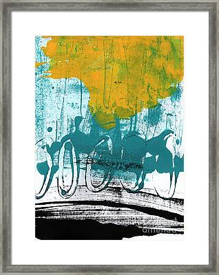 Morning Ride Framed Print by Linda Woods