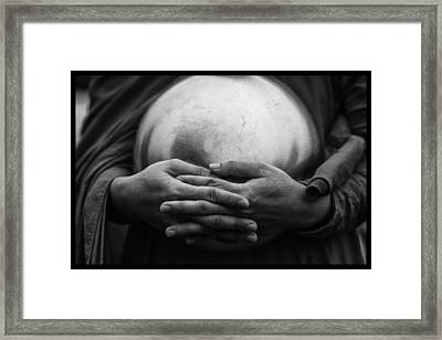 Morning Rounds Framed Print