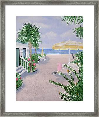 Morning Rush Hour Framed Print by Debbie Kiewiet