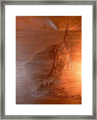 Morning Sail Framed Print