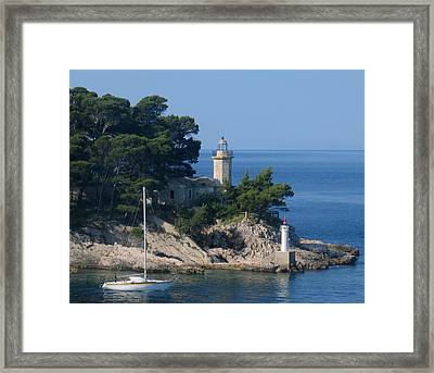 Morning Sail Framed Print by Jennifer Wheatley Wolf