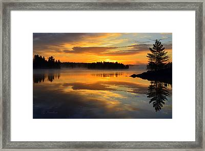 Morning Serenity Framed Print by Gregory Israelson