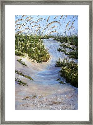 Framed Print featuring the painting Morning Shadows by Mary McCullah