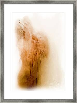 Morning Shower Framed Print by Edwin Davis