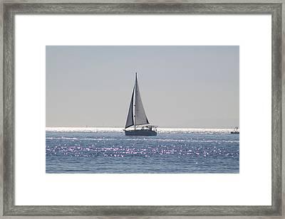 Morning Silver Framed Print by Eugene Charkov
