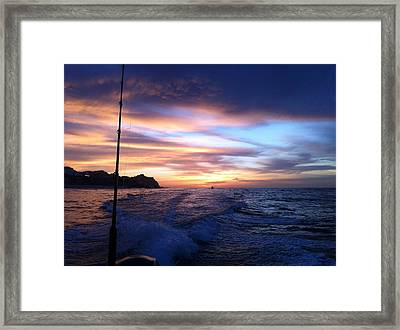 Morning Skies Framed Print