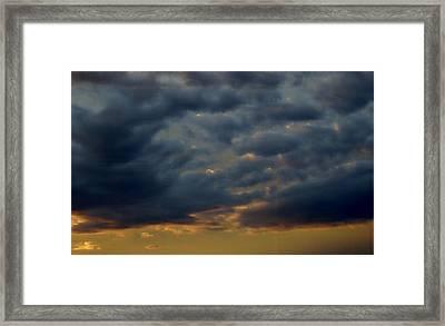 Morning Sky Framed Print by Yvette Pichette