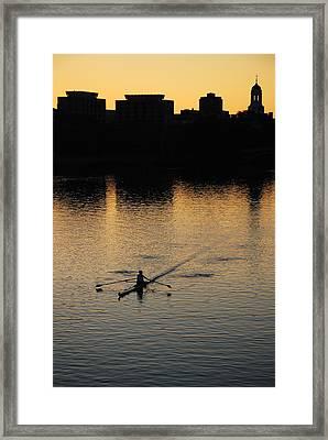 Morning Solitude Framed Print by James Kirkikis