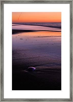 Morning Solitude  Framed Print