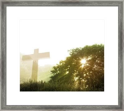 Morning Spirit Framed Print by Les Cunliffe