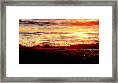 Morning Splash Framed Print by Karen Wiles