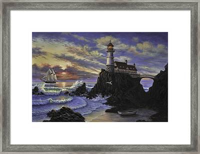 Morning Splendor Framed Print