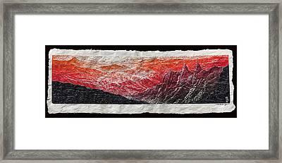 Morning Star Framed Print by Maria Arango Diener