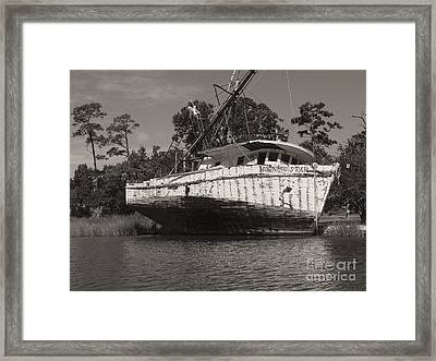 Morning Star Framed Print by Russell Christie