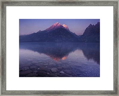 Morning Stillness Framed Print by Andrew Soundarajan