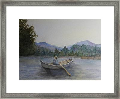 Morning Stillness Framed Print