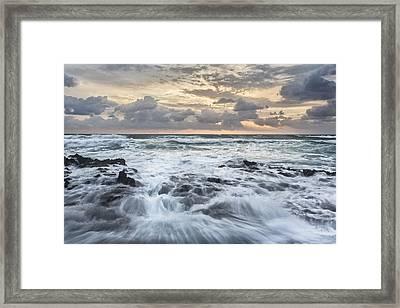 Morning Strength Framed Print