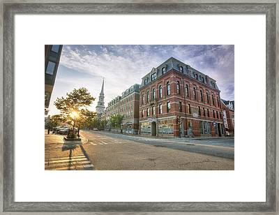 Morning Stroll Framed Print by Eric Gendron