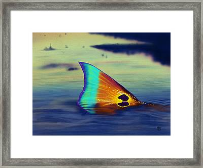 Morning Stroll Framed Print by Kevin Putman
