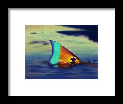 Redfish Framed Prints