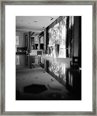 Morning Sunlight Framed Print by Simone Ochrym