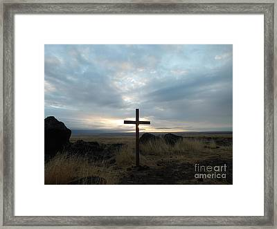 Morning Sunrise Framed Print by Marcus Maiden