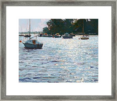 Morning Tide Framed Print