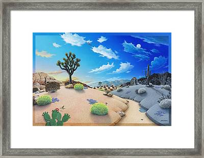 Morning To Night In Jt Framed Print by Snake Jagger