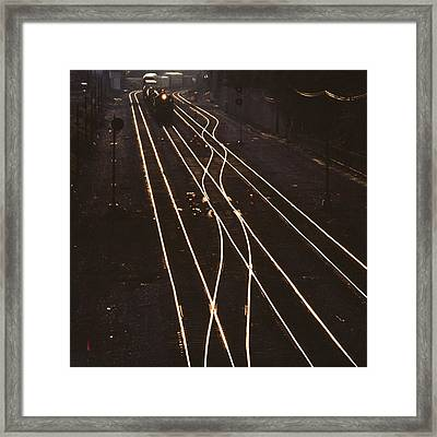 Morning Train Framed Print by Don Spenner