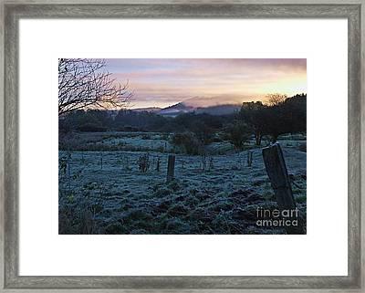 Morning Twilight Framed Print by Christian Mattison