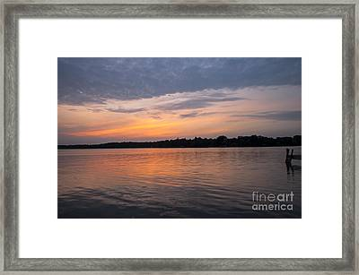 Morning Veil Framed Print