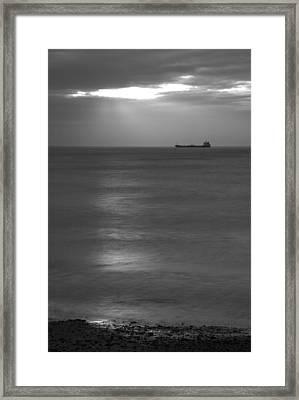 Morning View From Kingsdown Framed Print