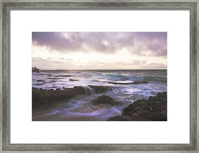Morning Waves Framed Print by Brian Harig