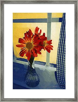 Morning Window Framed Print
