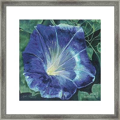 Morning's Glory Framed Print