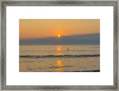 Mornings In New Jersey Framed Print by Bill Cannon