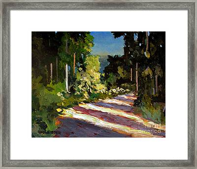 Mornings Light Framed Print by Charlie Spear