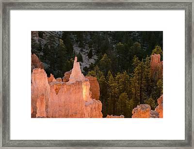 Morning Hoodoos Framed Print by Joseph Smith