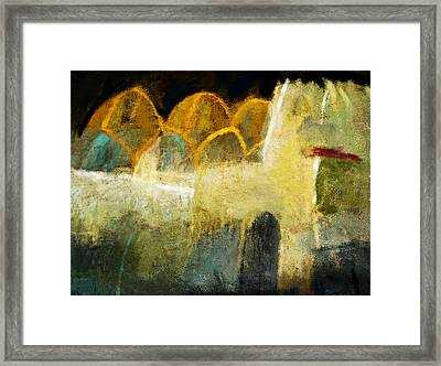 Moroccan Abstract Framed Print by Jeremy Norton
